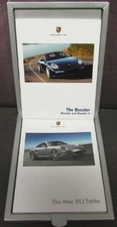 Purchase 2007 Porsche Dealer Boxed Set Prestige Sales Brochure Boxster 911 Turbo motorcycle in Holts Summit, Missouri, United States, for US $39.98