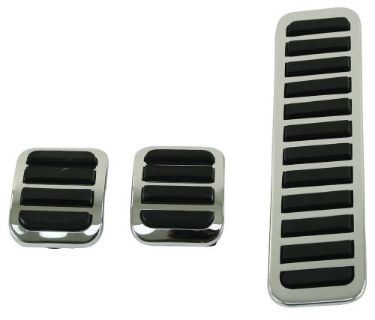 Find EMPI 4551 - CUSTOM CHROME PEDAL PADS VW RAIL DUNE BUGGY BUG GHIA BUS BAJA PARTS motorcycle in Saint Johns, Pennsylvania, United States, for US $15.49