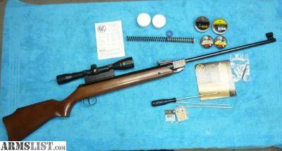 For Sale: RWS 34 .177 rifle & scope