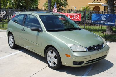 2007 Ford Focus ZX3 S (Green)