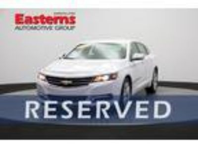 Used 2018 Chevrolet Impala Summit White, 37.2K miles
