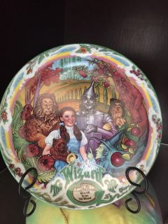 Wizard of oz musical plate