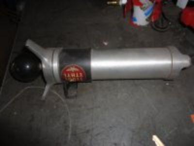 Vintage Hand Fuel Pump with Moon Equipment Bakelite Knob.