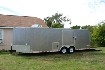 2011 Pace 28 V Nose Enclosed CarCargo Trailer