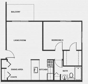 1 bedroom in Kinde