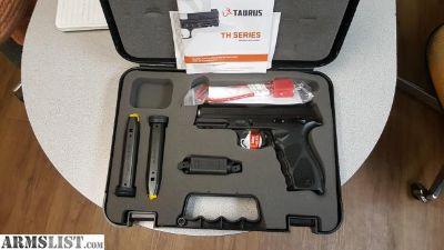 For Sale: TAURUS TH 9MM 4.25 2X17 NIB