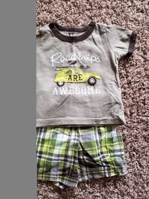 12 month Carter's summer outfit