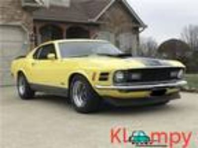 1970 Ford Mustang Yellow 2 Door Coupe 351