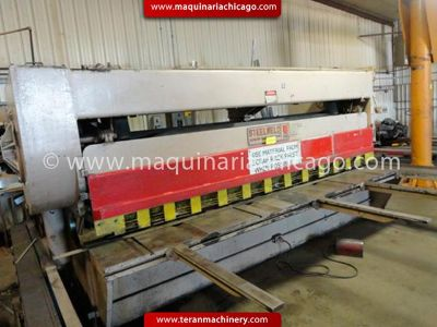 STEELWELD Shear 12 x 14 used
