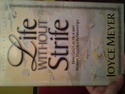 $5 Book - Joyce Meyer - Life Without Strife