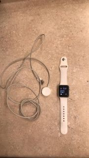 Apple Watch series 1 and charger