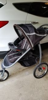 The Graco FastAction Fold Jogger stroller with Click Connect