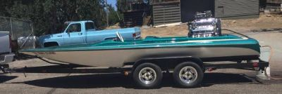 Hydro Dragboat V-Drive Mike Kuhl River Rat Waterpump Impeller Flatbottom,