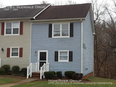 Wonderful end unit Townhome! Both bedrooms are located on the 2nd floor and each has a full bath! Laundry on 1st floor!
