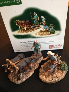 Dept 56 The Holy Land series, Parables of Jesus The Sower and the Seed (retired)