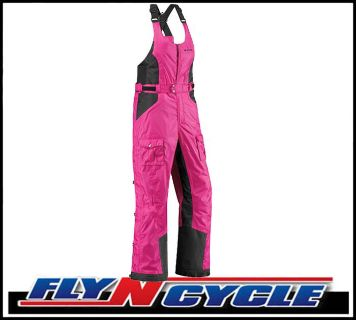 Purchase Arctiva Women's Gem 3 XS Pink Snowmobile Waterproof Bibs Snow motorcycle in Ashton, Illinois, US, for US $180.00
