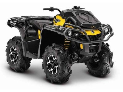2014 Can-Am Outlander X mr 650 Utility ATVs Wilkes Barre, PA