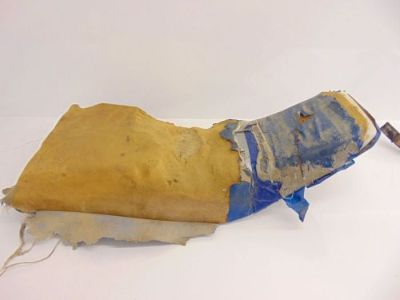 Sell 86 Honda TRX 200 SX Used Seat Body Pan Foam 77100-HB3-415 motorcycle in Chippewa Lake, Ohio, United States, for US $55.00