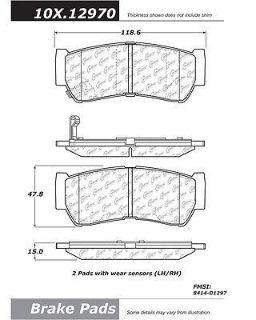 Sell CENTRIC 300.12970 Brake Pad or Shoe, Rear-Premium Semi-Met Pads w/Shims motorcycle in Saint Paul, Minnesota, US, for US $20.59