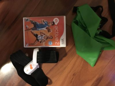 Wii Active 2 Personal Training set