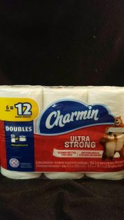 Charmin 6=12 Double Roll TP