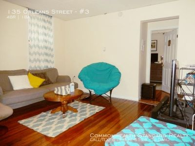 AVAILABLE 09/01! - 4BED/1BATH IN EAST BOSTON- UPDATED APPLIANCES & PET FRIENDLY!!!