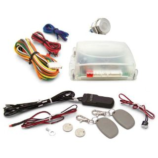 Purchase One Touch Engine Start Kit with RFID - White illuminated Button 9 inch camper motorcycle in Portland, Oregon, United States, for US $202.50