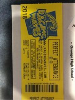 raging waves ticket