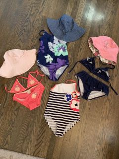 Bathing suits size 5/6 girls