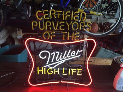 Miller High Life Neon - PARTIALLY WORKING