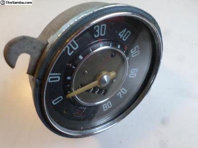 seized 2/59 speedometer