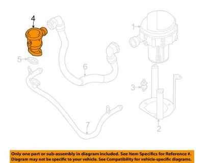 Purchase BMW OEM 01-03 525i 2.5L-L6 Emission-Air Valve 11727540468 motorcycle in Shrewsbury, Massachusetts, United States, for US $115.30