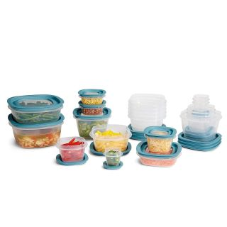 NEW-Rubbermaid Flex & Seal Food Storage Container Set with Easy Find Lids 42-Piece set
