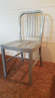 Metal dining chairs set of 4