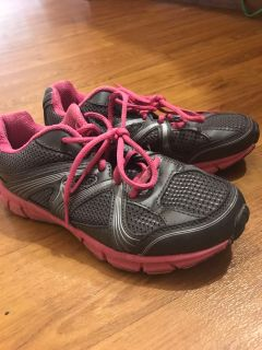 Women s shoes pink and gray