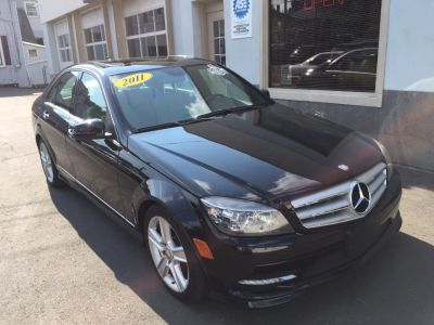 2011 Mercedes-Benz C-Class C300 4MATIC Luxury (Black)