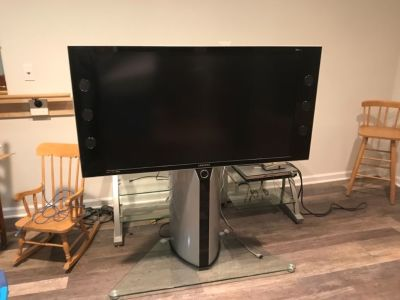 Tv and stand 52""