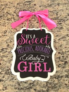 Cute Baby girl sign
