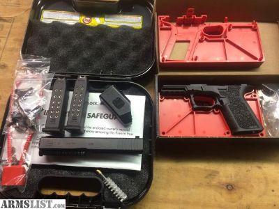 For Sale: Glock 19 Slide, 80% frame, Parts Kit