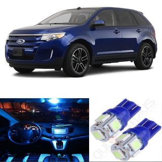 Buy 12x Aqua Ice Blue LED Full Interior Light Kit Package For Ford Edge 2011-2014 US motorcycle in Pomona, California, United States