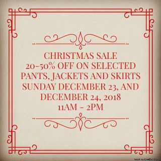 Style It Green Christmas Sale