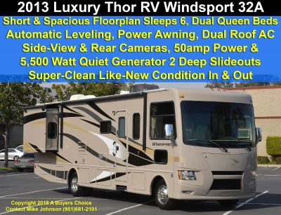 2013 Thor Motor Coach WINDSPORT 32A