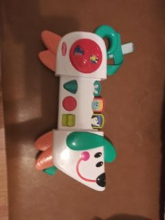 Very cute toy that goes on car seat preschool brand good condition