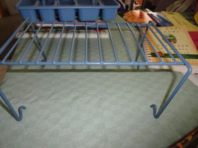 METAL ORGANIZER STAND $1.50 EA OR 2/$2