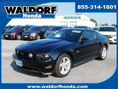 2012 Ford Mustang GT (black)