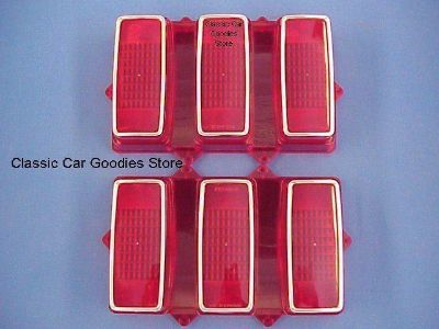 Purchase 1969 Ford Mustang Tail Lights Lens (2) Brand New! motorcycle in Aurora, Colorado, US, for US $64.99