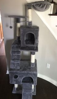 Cat Tree/Kitty Condo- EUC
