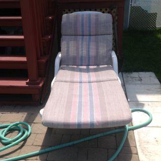Coussins pour chaise longue