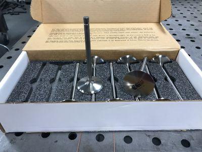 New DelWest titanium valves