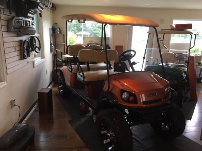 2018 E-Z-Go Express L6 Gas Golf carts Exeter, RI